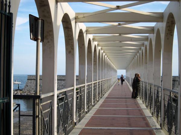 a bridge to the sea
