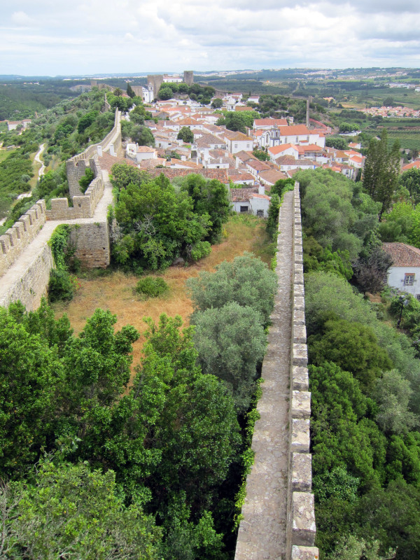 obidos wall