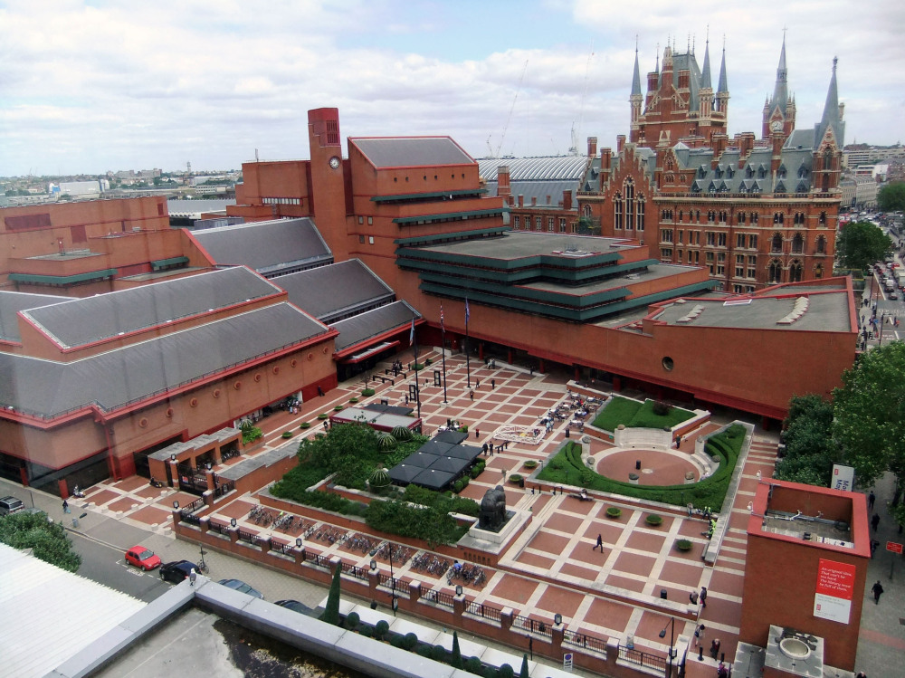 kings cross and the british library