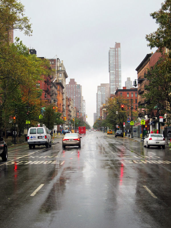 empty streets post sandy