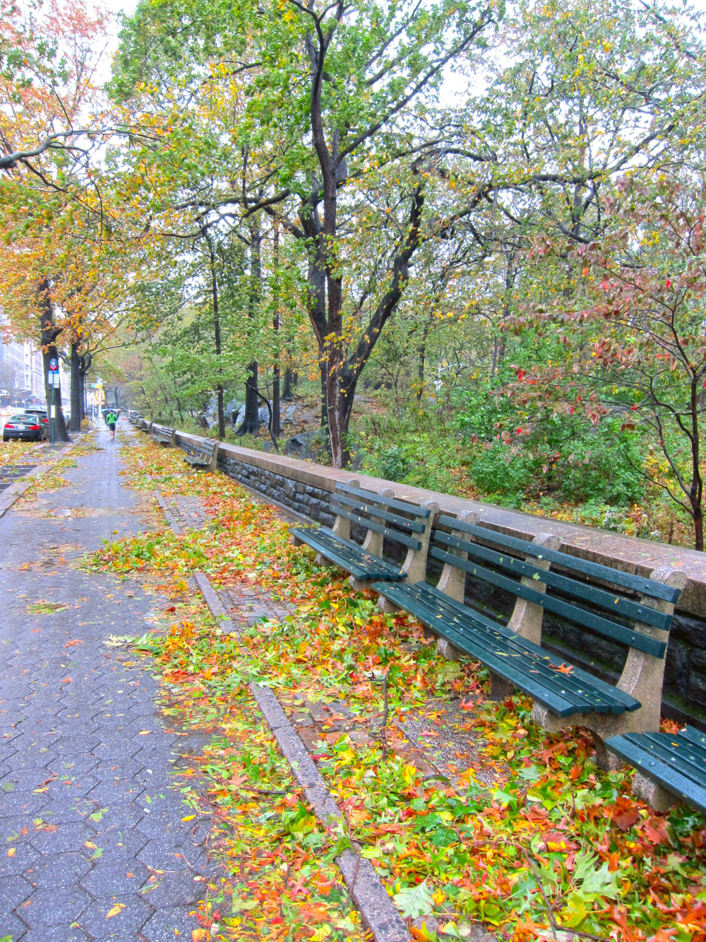 cpw under leaves