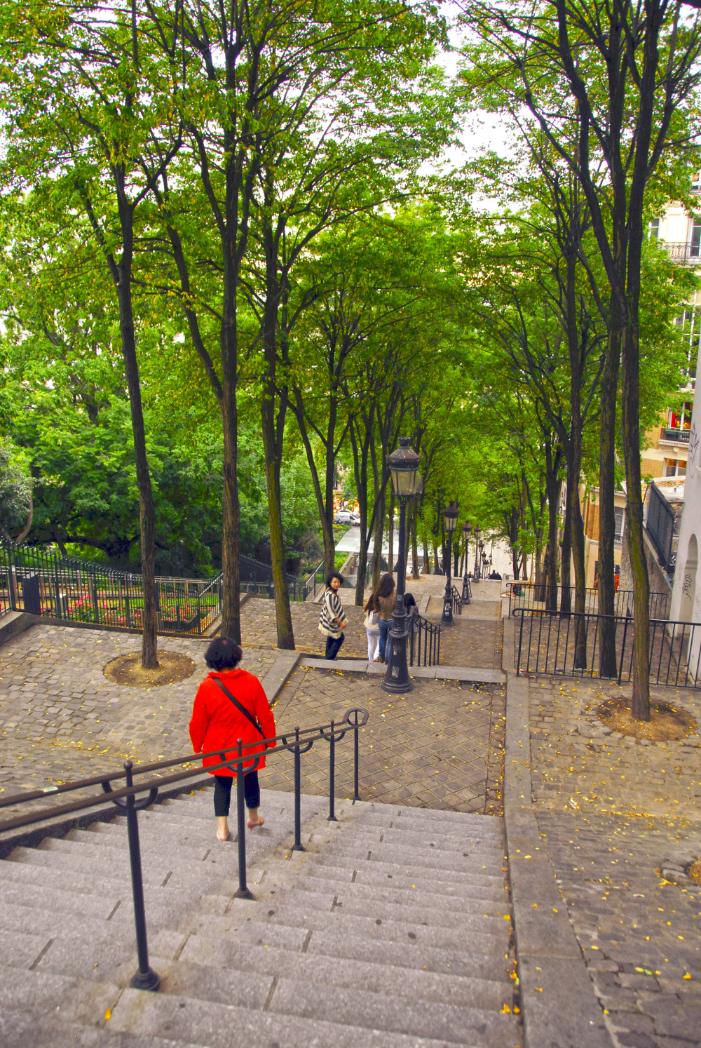 steps to sacre coeur