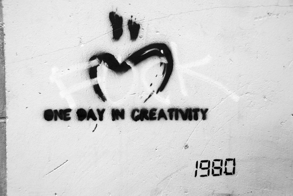 one day in creativity