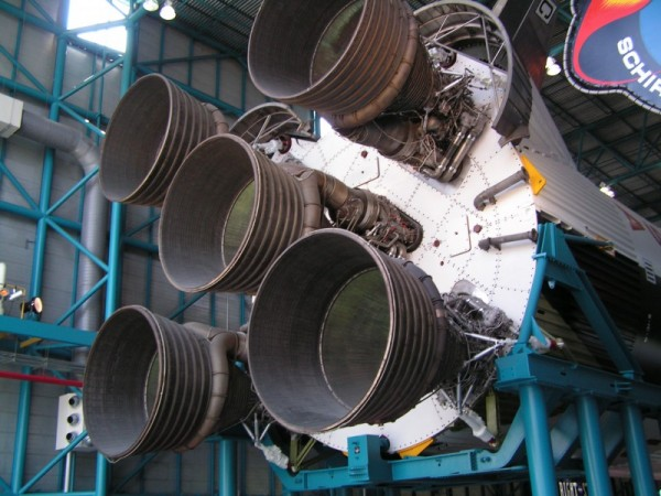 The Business End of a Saturn V