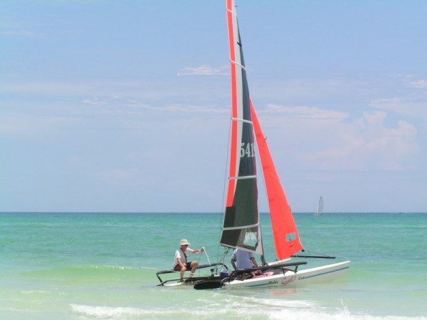 Sailing in the Gulf