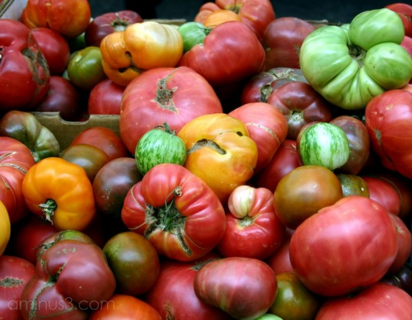 Farmers Market Organic Tomatoes