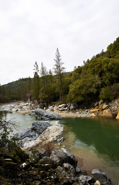 Looking South on the South Fork Yuba River