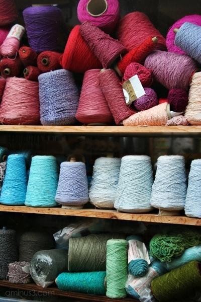 weaving Studio Mendocino California