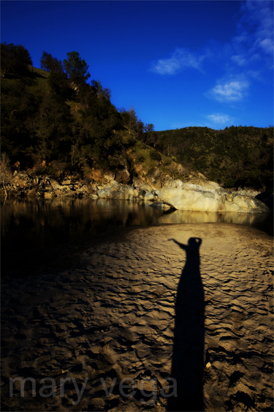 Me in the Yuba Shadow