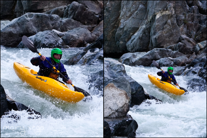 Kayaking on the South Fork