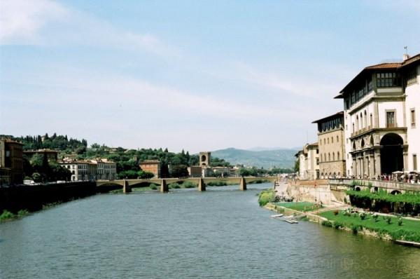 View from Ponte Vecchio