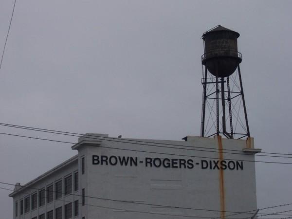 water tower winston salem