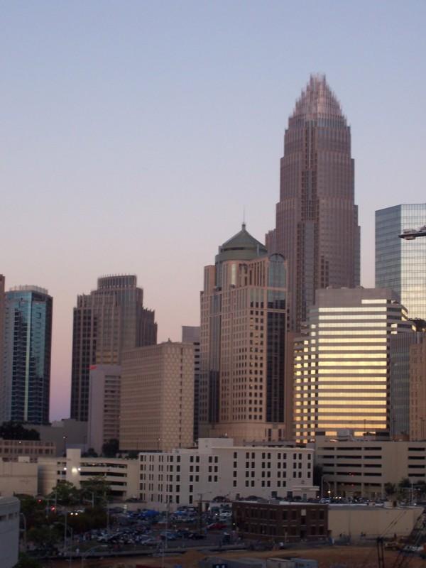 Charlotte North Carolina Bank of America