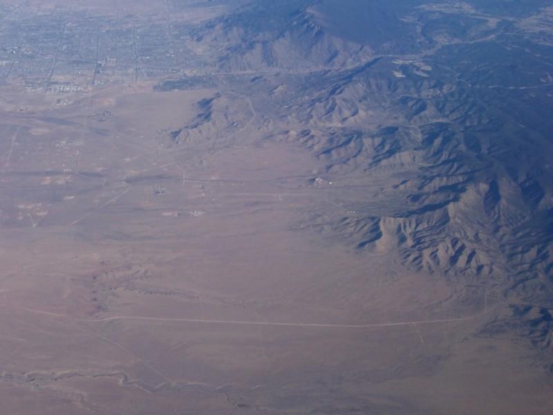 desert airplane nevada arizona new mexico