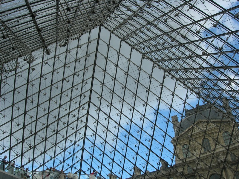Louvre Museum's Pyramid