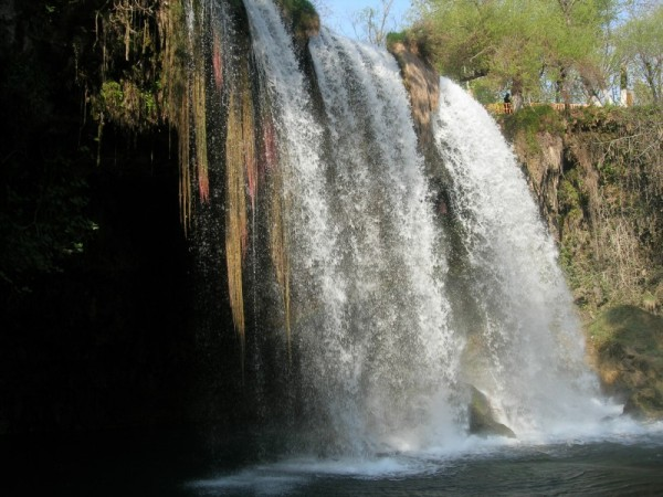 Düden Waterfalls in Antalya