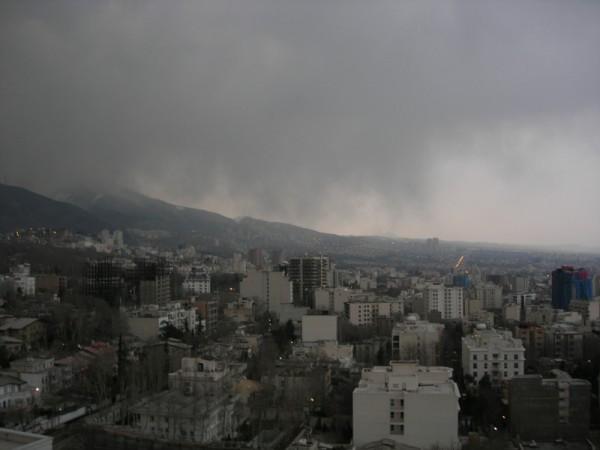 Dark Cloud Over Tehran