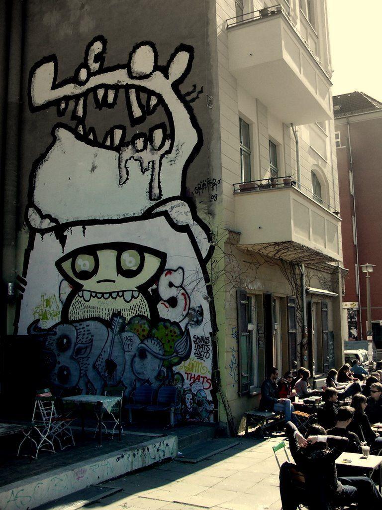 graffitti in Berlin