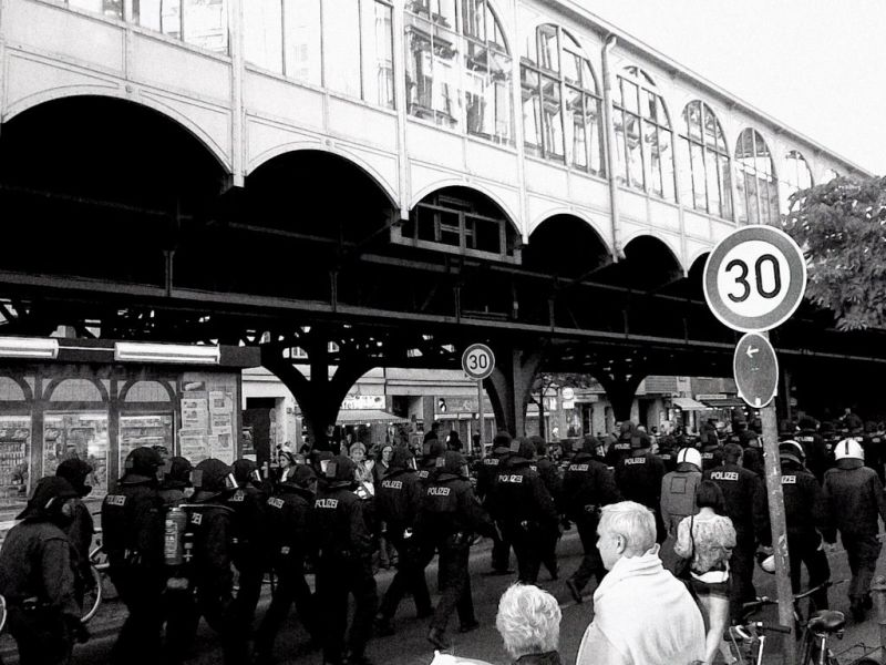 Police action on Mayfest, Berlin