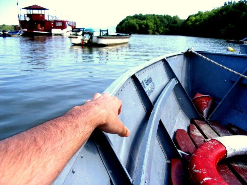 boat on the Danube