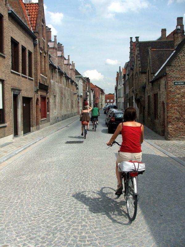 Brugge by bike