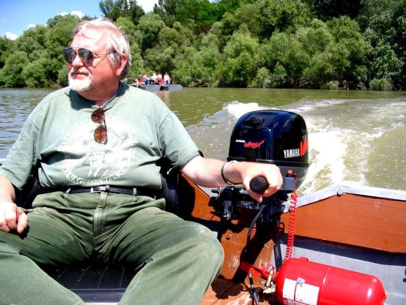 Danube boat rider