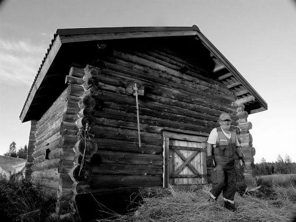 Grain dryer house in Finland