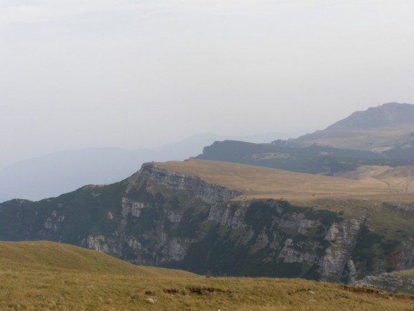 Bucegi mountains landscape