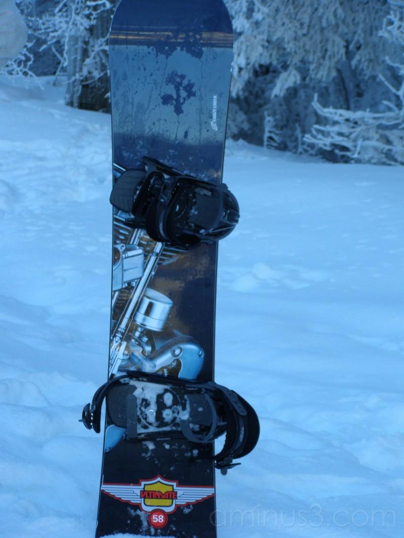 Snow ... board