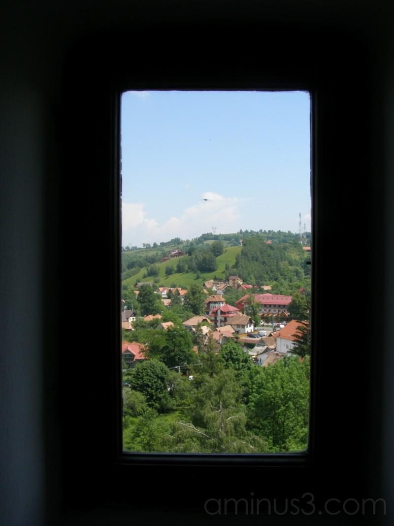 The big world seen trough a small window