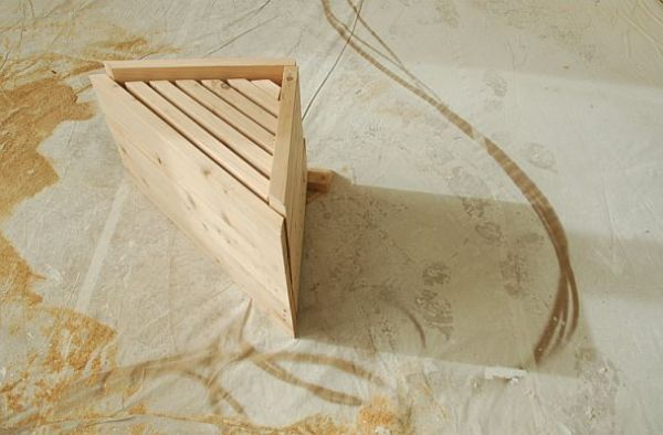 Corner Bench to be