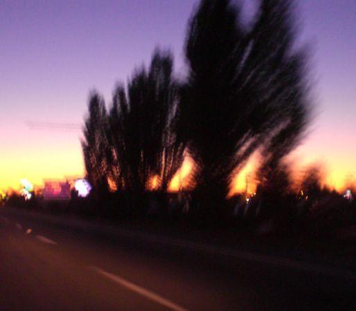 Sunset on I-5 Fife