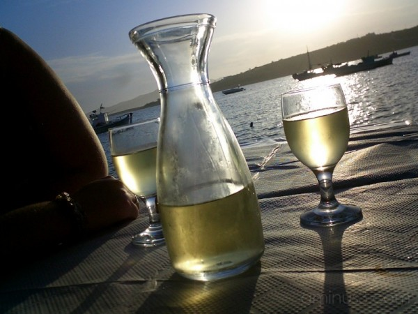 A toast to the sunset