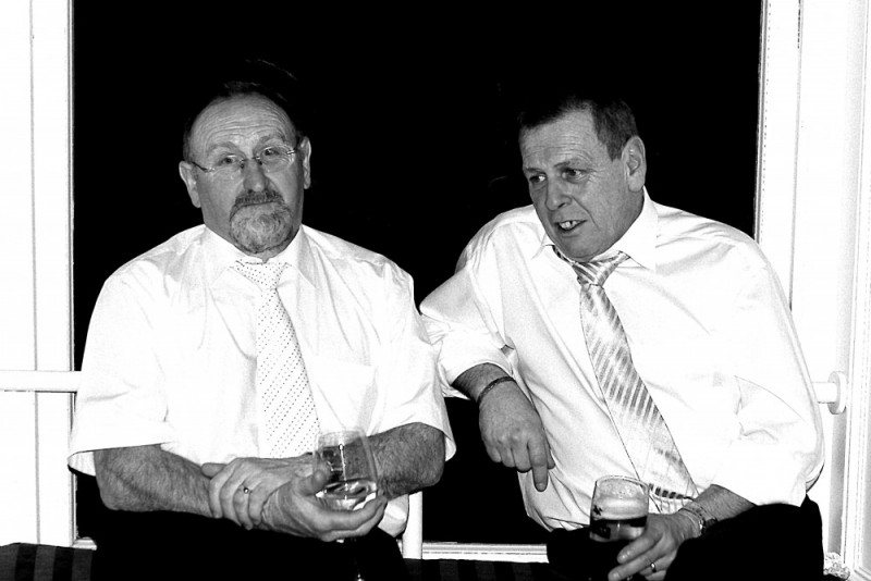 Wedding Powerscourt Wicklow Ireland Dad brothers