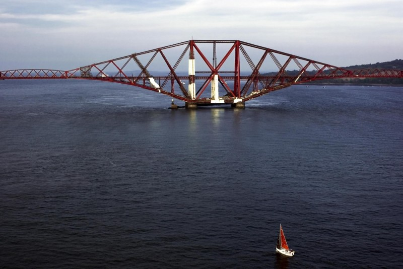 The Firth of Forth Road Bridge, Scotland
