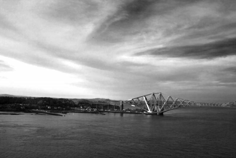 The Firth of Forth Road Bridge, Scotland