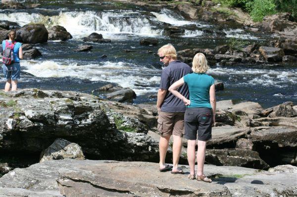 A Waterfall in Scotland