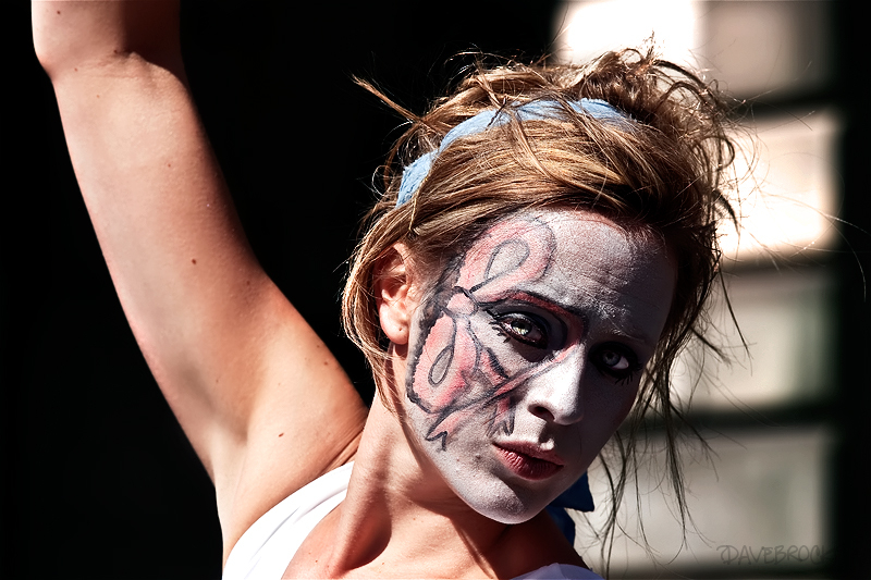 A performer at the Edinburgh Festival