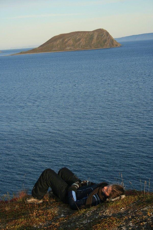 Resting North