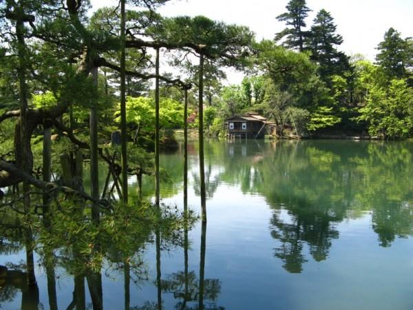 Kenrokuen Garden.