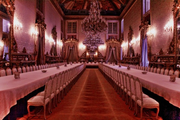 Palace of Ajuda (dining room)
