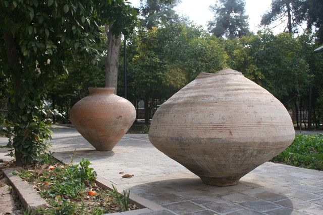 Zoroastrian coffins- Parse Museum - Shiraz