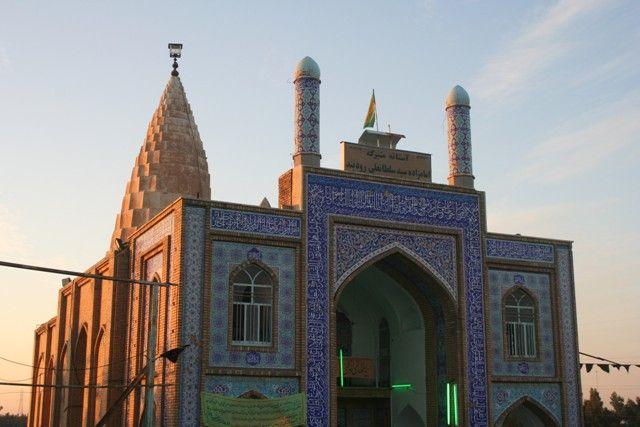 Emamzadeh roodband tomb