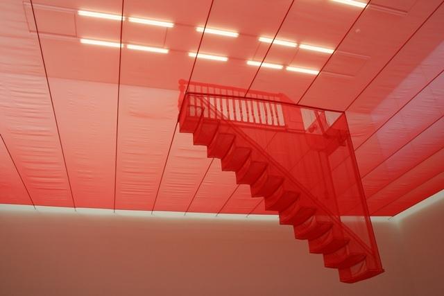 Art work at Saatchi Gallery, London