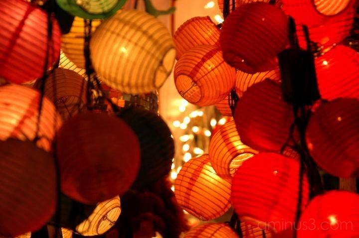 lanterns, hk