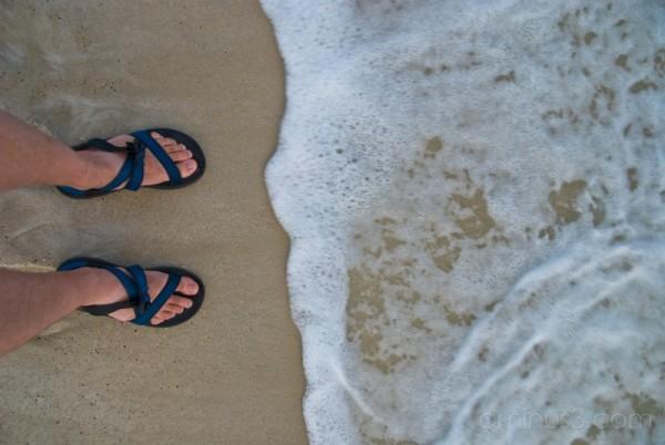 Chaco on Beach