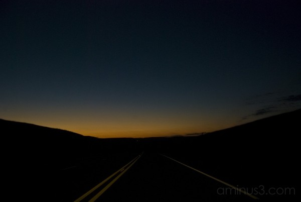 Drive into Sunset