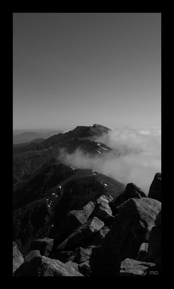 A view from Chopok, Low Tatras
