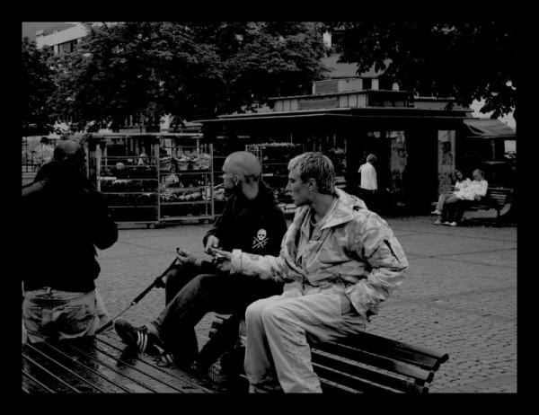 Norwegian hooligans in Drammen