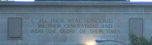 Ottawa War Memorial Archway